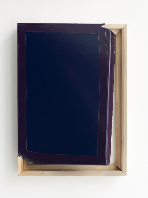 , 'Tight (Navy/Violet),' 2014, Galerie Thomas Schulte