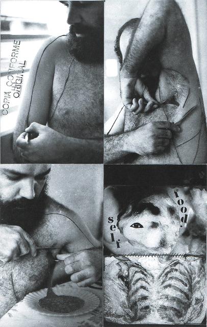, 'AlimentAção,' 1978, Galeria Nara Roesler