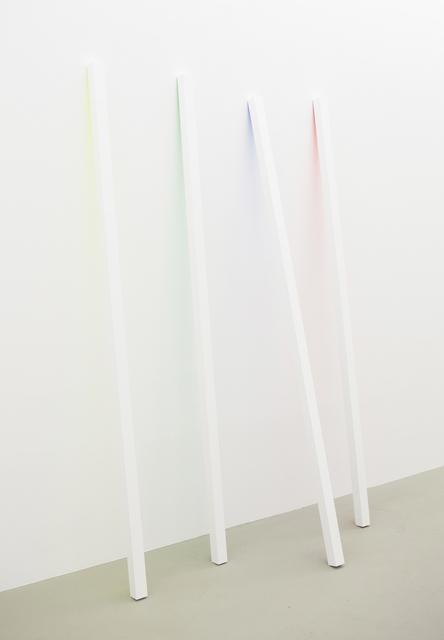 , 'Sticks - yellow, green, blue, red,' 2015, Ruttkowski;68