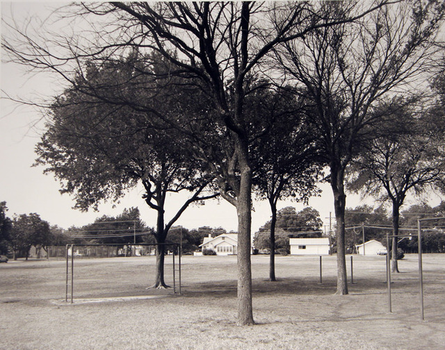 Frank Gohlke, 'Playground of Crockett Elementary School, where I attended grades 1-7', 1984, ClampArt