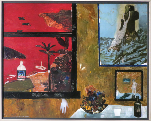 , 'View of Pango Pango Harbor from Sadie Thompson's House,' 1993, Etherton Gallery