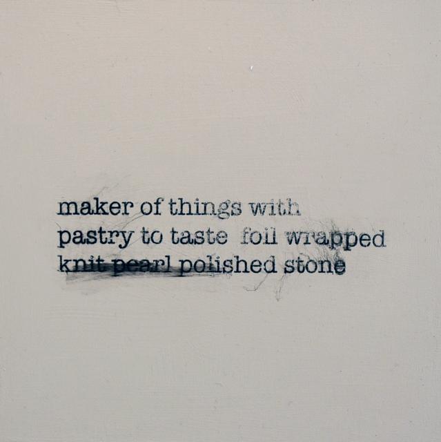 , 'Haiku 9,' 2016-2017, Carter Burden Gallery