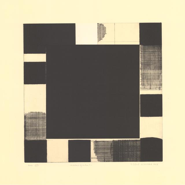 , 'Square and Moon 1,' 2018, Kunstverket Galleri