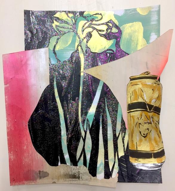 , 'Post mortem vanitas (blikje bier met iris),' 2018, Galerie Bart