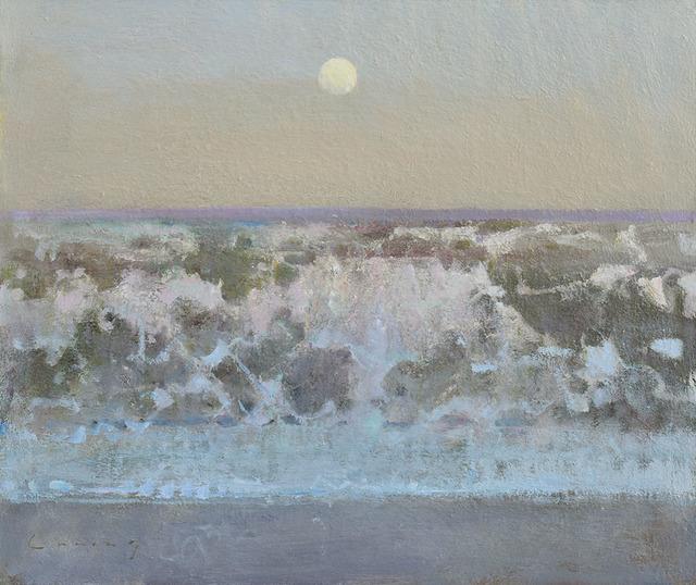 , 'Morning, Breaking Wave,' 2018, Adam Gallery