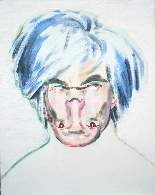 , 'Shockheaded Warhol I [Study],' 2010, Dellasposa
