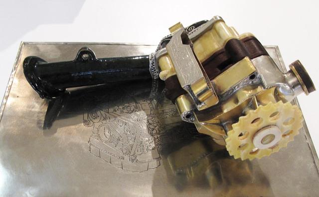 , 'V12 Laraki, untitled (Oil pump) ,' 2014, Voice Gallery