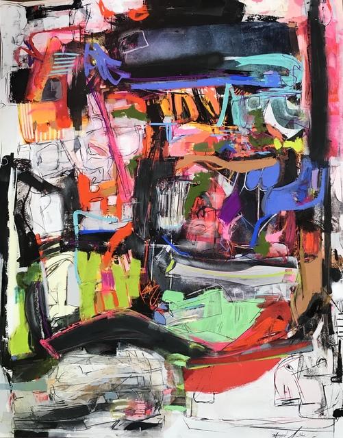 , 'Night on the El Train,' 2019, Gildea Gallery