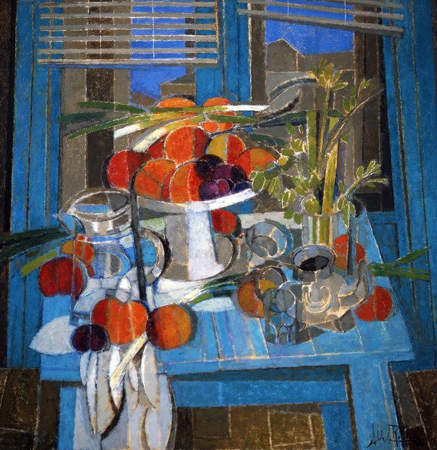 , 'Turquoise ,' 2016, Albemarle Gallery | Pontone Gallery