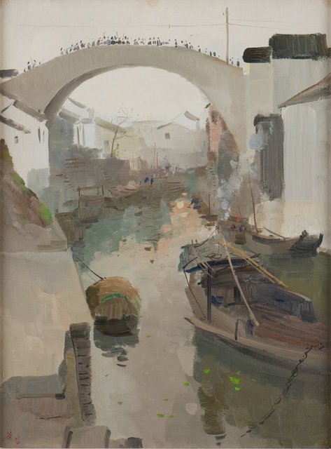 , 'Hometown Morning (故乡之晨),' 1960, National Gallery Singapore
