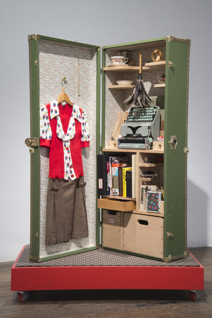 , 'Reception Portable Office from Home Office Trunk Show,' 2003, Ronald Feldman Gallery