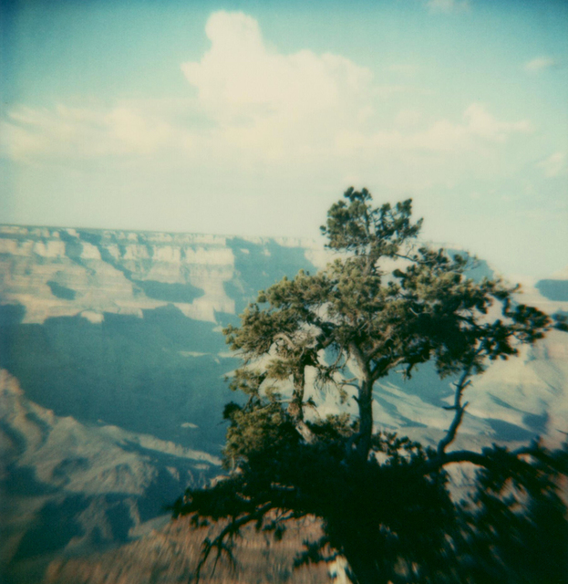 Carmen de Vos, 'Yosemite #54 - from the series US Road trip Diary ', 2007, Photography, Archival pigment print on canvas, photo based on an expired Polaroid, Instantdreams