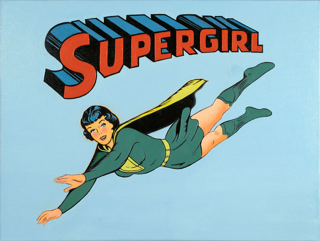 , 'Supergirl,' 2015, Bernarducci Gallery