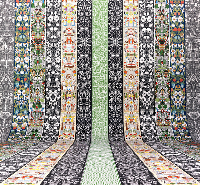 , 'Wallpaper designs, from Archives collection,' 2014, Cooper Hewitt, Smithsonian Design Museum