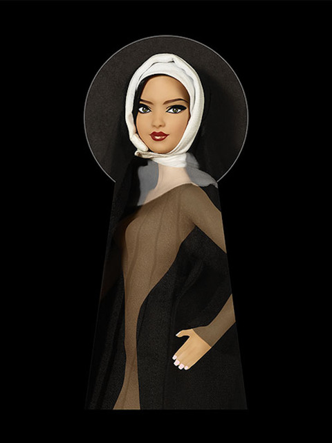 , 'Keyhole Nun Monica,' 2016, K + Y Gallery