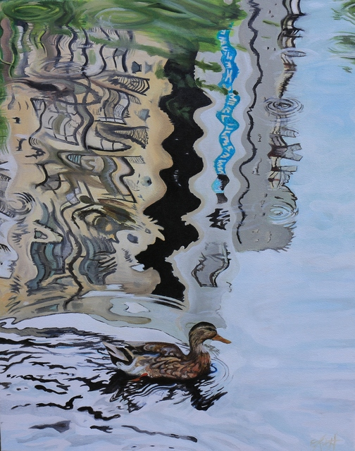 , 'Duck, Old Fourth Ward Park,' ca. 2018, Brickworks Gallery
