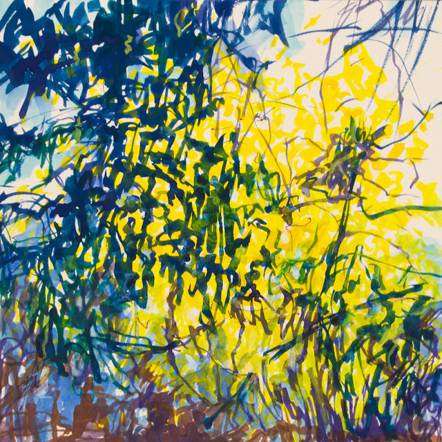Melanie Kozol, 'Witch Hazel', 2013, Painting, Watercolor, ink, gouache, and pencil on paper, The Painting Center