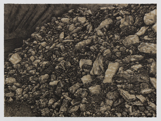 , 'La Bajada Mine, New Mexico,' 201, Tamarind Institute