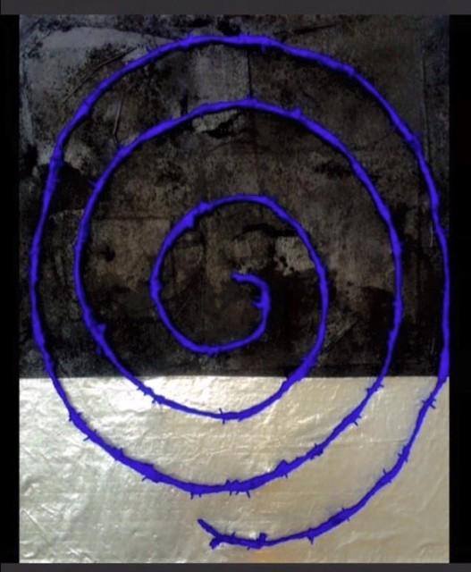 , 'Ring Painting #4,' 2015, InLiquid