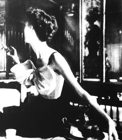 Lillian Bassman, 'Across the Restaurant: Barbara Mullen in a Dress by Jacques Fath at Le Grand Vefour, Paris, Harper's Bazaar, Paris, April', 1949, Jackson Fine Art