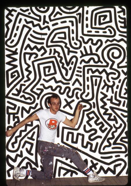 Tseng Kwong Chi, 'Keith Haring, Brooklyn Academy of Music, New York', 2014, Eric Firestone Gallery