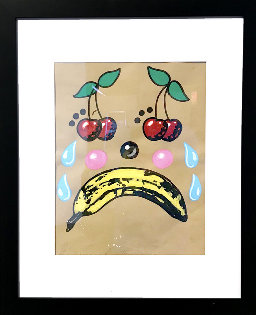 , 'Sad Banana & Cherry,' 2018, La Luz de Jesus Gallery