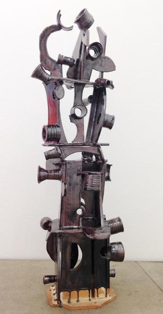 Ann Agee, 'Dipped Then Upright', 2013, Sculpture, Glazed stoneware, Shoshana Wayne Gallery