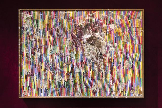 , 'Fresques craies (A),' 2015, Galleria Continua