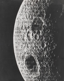 FARSIDE OF THE MOON WITH MARE MOSCOVIENSE, 13 AUGUST 1967