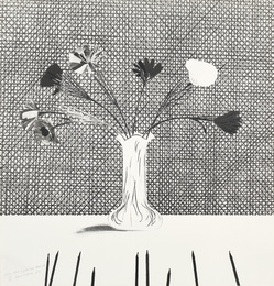 Flowers Made of Paper and Black Ink (S.A.C. 120; M.C.A.T. 114)