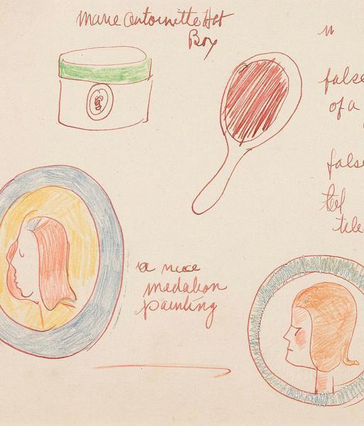 Joyce Wieland, 'Marie Antoinette', 1965, Caviar20