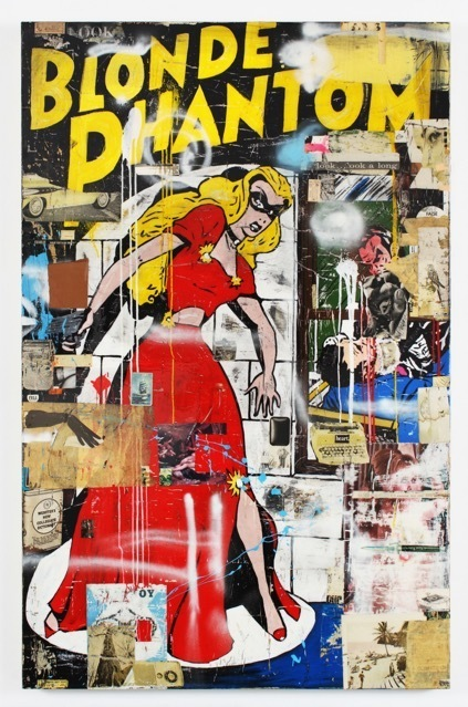 , 'Blonde Phantom,' 2012, William Turner Gallery