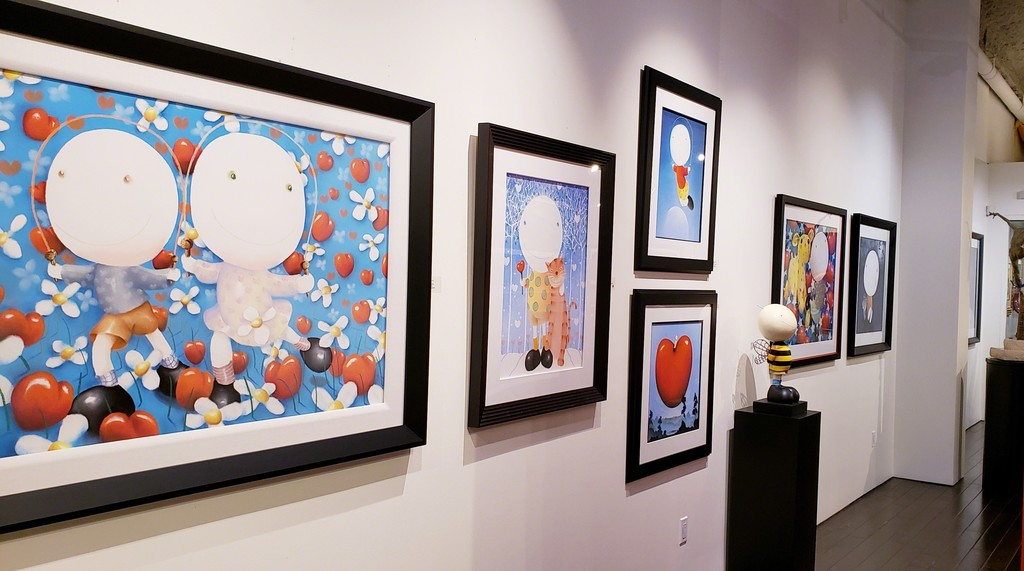 Mackenzie Thorpe / New & Recent Works at Off The Wall Gallery, Houston, TX (USA). Worldwide shipping available.