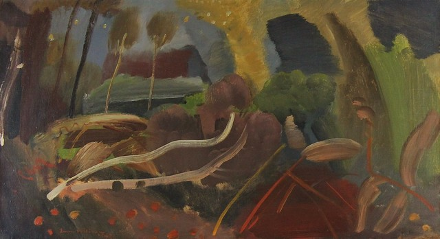 , 'Fell Trees,' 1942, Castlegate House Gallery