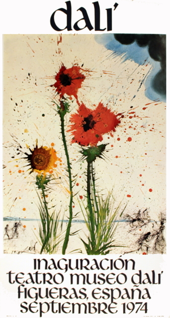 Salvador Dalí, 'Spring Explosive', 1974, Print, Offset Lithograph, ArtWise