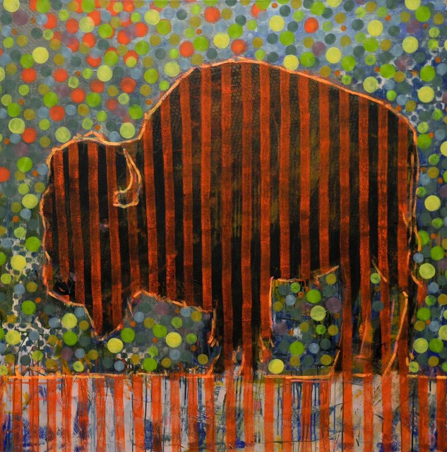 , 'Animal Painting 018-1546,' , Diehl Gallery