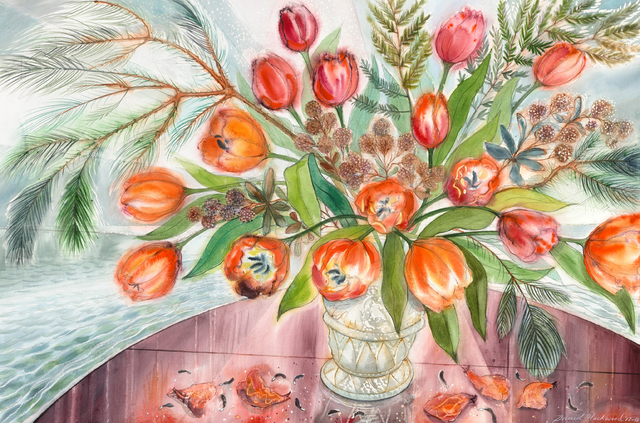 , 'December Tulips,' 2017-2018, Winchester Galleries