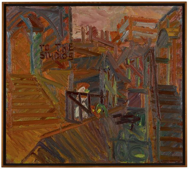 , 'To the Studios,' 1977, Ben Brown Fine Arts