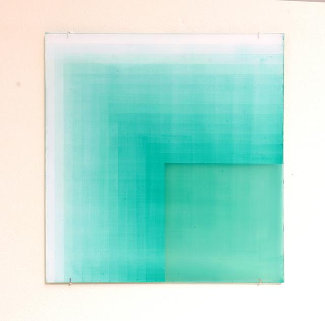 , '38调 -rv 祖母绿 38 emerald shades,' 2018, Tong Gallery+Projects