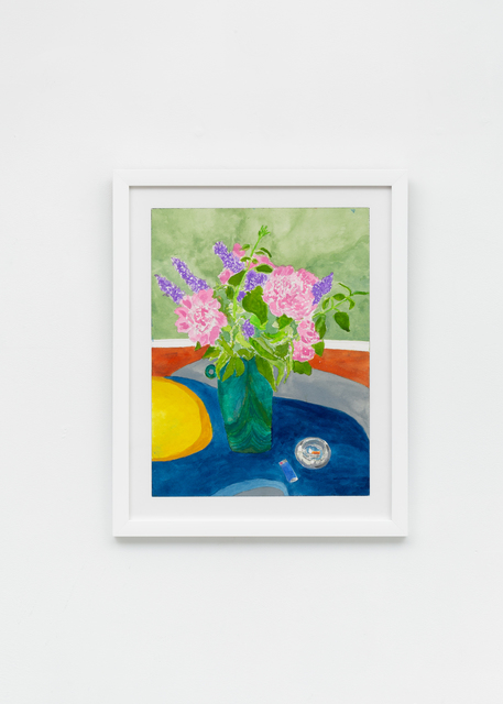 , 'Peonies and Lilacs (Smoking),' 2019, Richard Taittinger Gallery