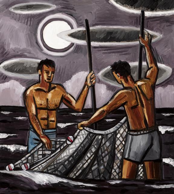 , ' Bait Fishing (DBAT 0363),' 2017, Arthur Roger Gallery