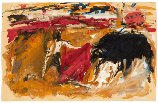 Elaine de Kooning, 'Untitled', ca. 1958, Hollis Taggart