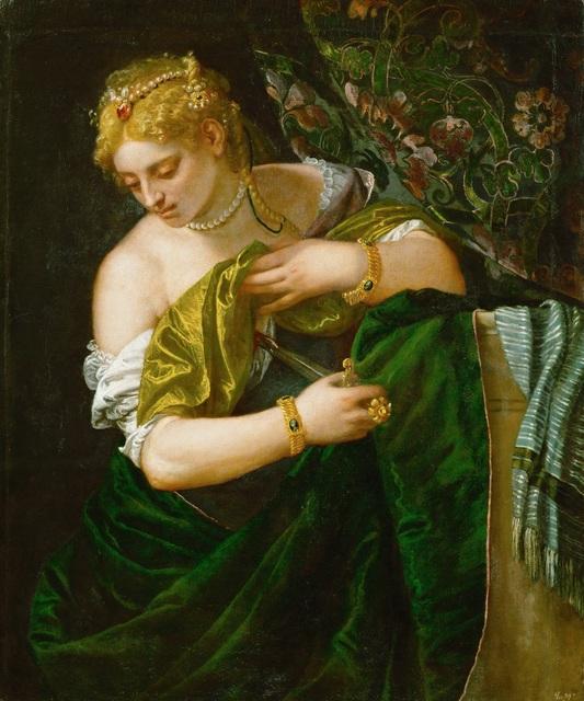 , 'Lucretia,' 1580-1583, Legion of Honor