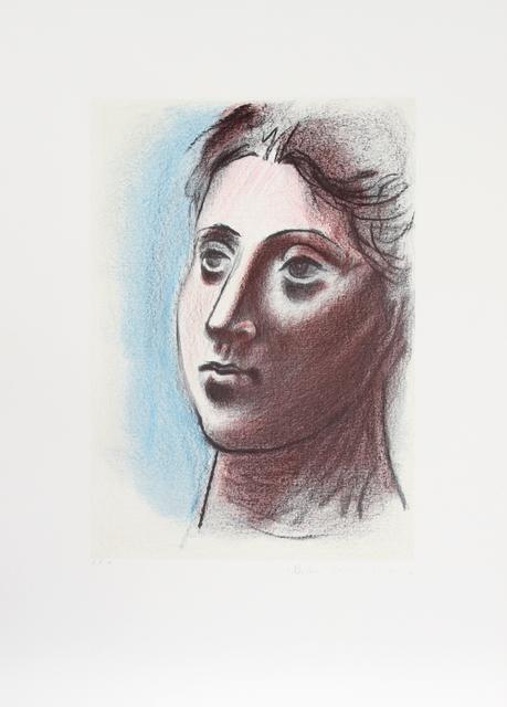 Pablo Picasso, 'Portrait de Femme a Trois Quart Gauche, 1920', 1979-1982, Print, Lithograph on Arches paper, RoGallery
