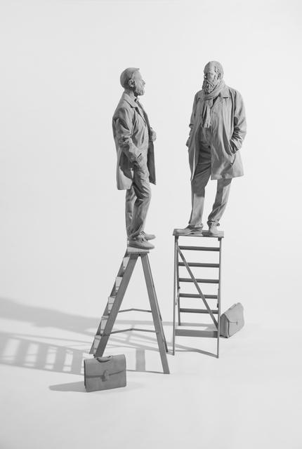 , 'The Conversation,' 2019, Galerie Krinzinger