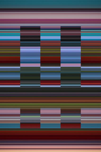 Fernando Velázquez (b. 1970), 'da série Mindscapes, #121', 2020, Print, Algorithmic image, Zipper Galeria