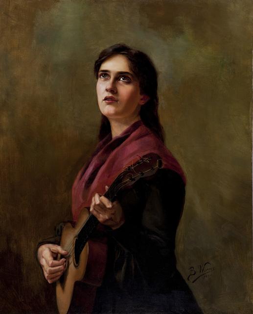 , 'Sentimental Song,' 1904, Pinacoteca do Estado de São Paulo