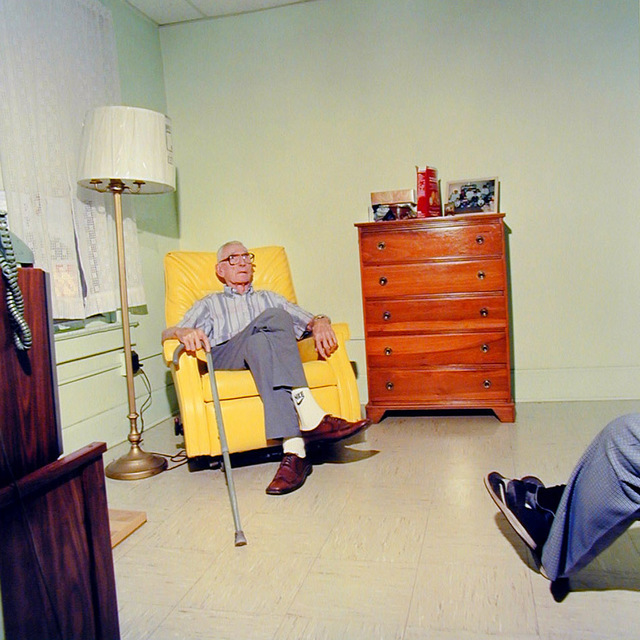 Chris Verene, 'Untitled - Gelesburg (Grandpa and I at Millionaire's Rest Home)', 1994, PDNB Gallery