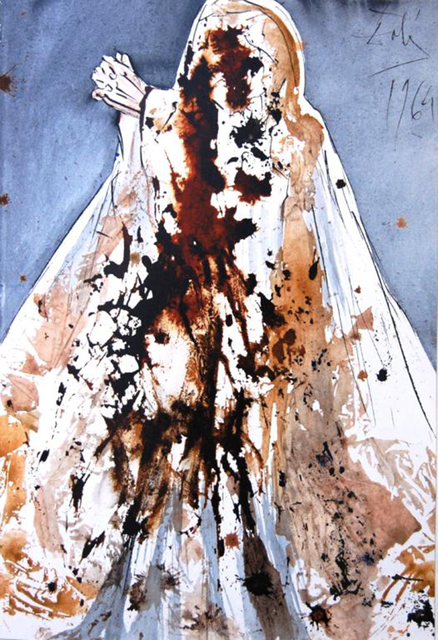 Salvador Dalí, 'Lazarus, Come Forth', 1967, Print, Original colored lithograph on heavy rag paper, Baterbys