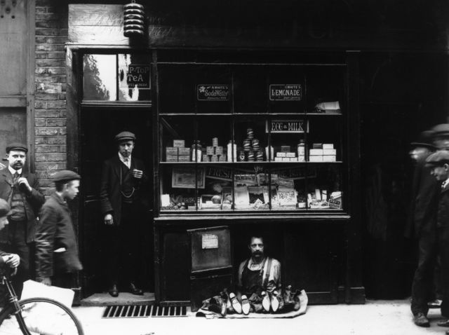 , 'The Smallest Shop ,' 1910, Getty Images Gallery
